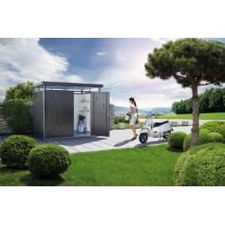 Casetta da giardino in metallo, HighLine di Box Giardino